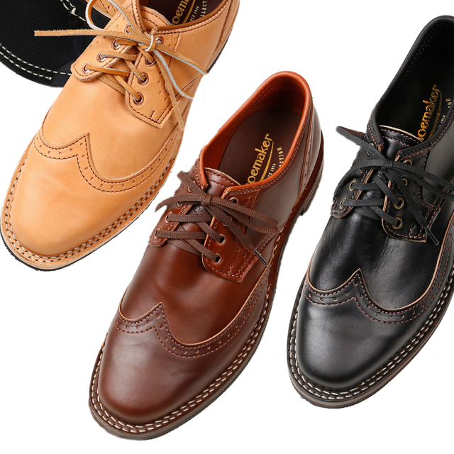 [ウエスコ] WESCO BOOTS Shoemaker Family Collection Rober William ロバートウィリアム ウィングチップ オックスフォードシュー