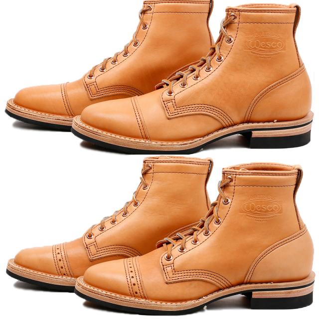 Wesco Boots Shoemaker Family Collection~ HENDRIK -Toe Cap-