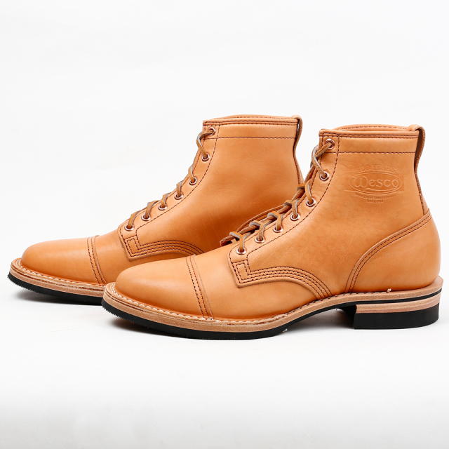 Wesco Boots Shoemaker Family Collection~ HENDRIK -Toe Cap-