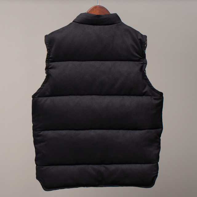 STEVENSON OVERALL Co. Black Hills - BH1 RIVERSIBLE DOWN VEST ダウンベスト