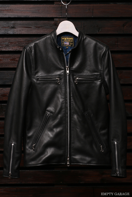 Vanson Special Custom Single Riders Jacket Type BW-02S