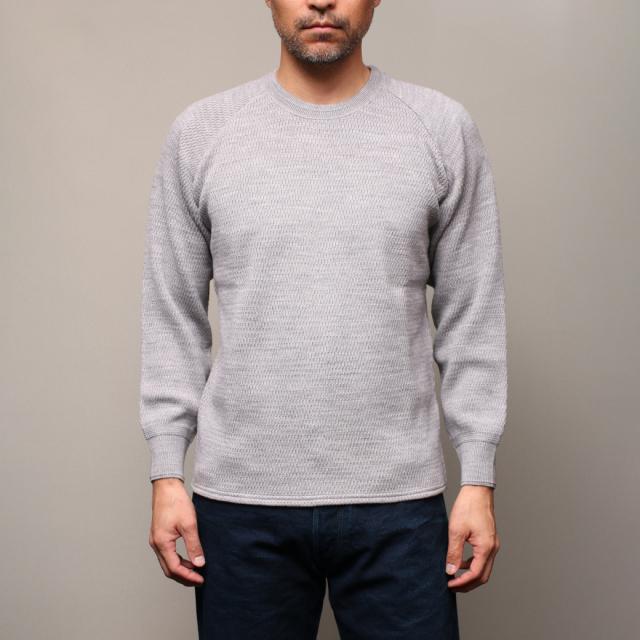 STEVENSON OVERALL Co. Wool Thermal Long Sleeve - WL Merino Wool Khaki