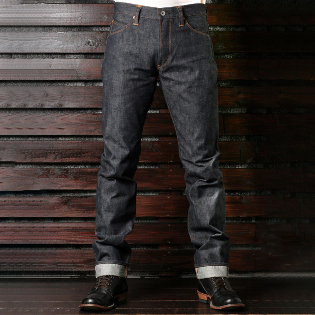 Stevenson Overall Co. La Jolla LOT.727 Rigid 14oz. Indigo ラフォーヤ