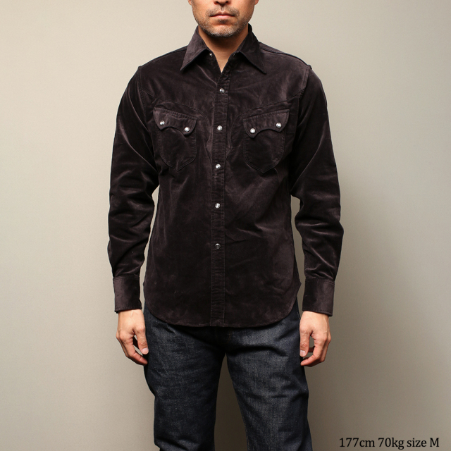 STEVENSON OVERALL Co. Cody CD2 WESTERN SHIRT ウエスタンシャツ