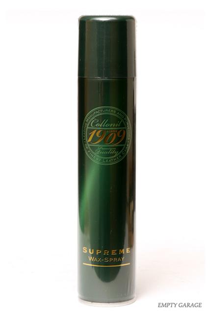 Collonil [コロニール] 1909 シュプリームワックススプレー(保革・栄養効果の防水スプレー)