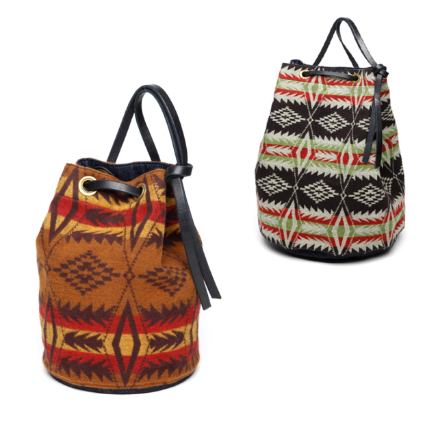 STEVENSON OVERALL CO. Native Pattern Bucket Bag Small (October, 2019)
