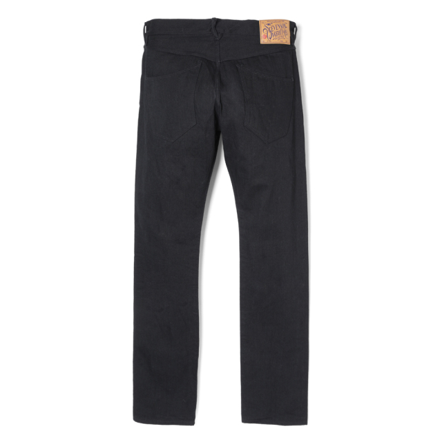 Stevenson Overall Co. Monterey - 110 SLIM TAPERED TAPERED LEG  Black Denim Pants (October, 2019)