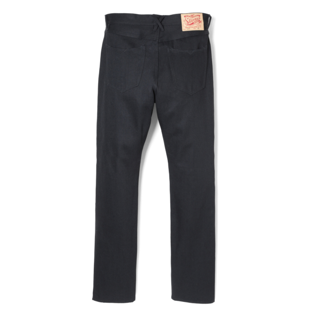Stevenson Overall Co. Carmel - 220 REGULAR TAPERED LEG Black Denim Pants (October, 2019)