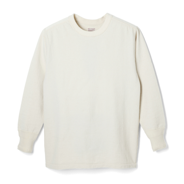 STEVENSON OVERALL Co. Cotton Crewneck Thermal - CT Natural (October, 2019)