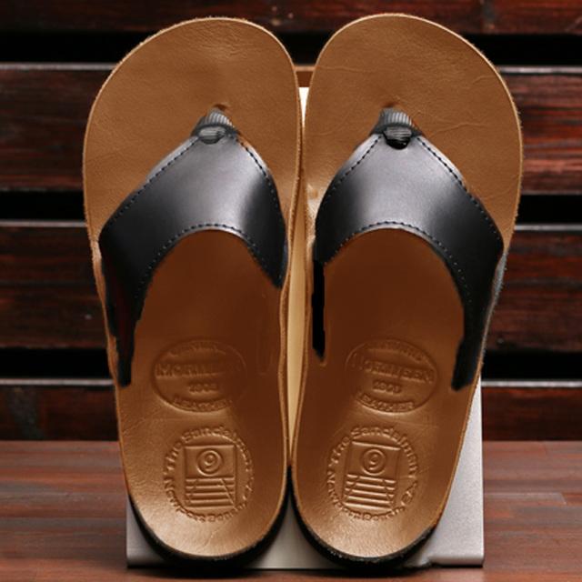 The Sandalman 501 Black x Tan Chromexcel