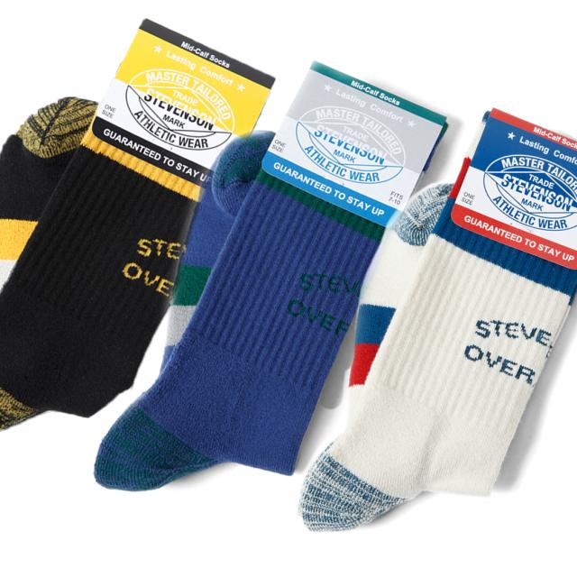 STEVENSON OVERALL CO. 2020SS スティーブンソンオーバーオール Athletic Socks - AS2 ソックス 靴下