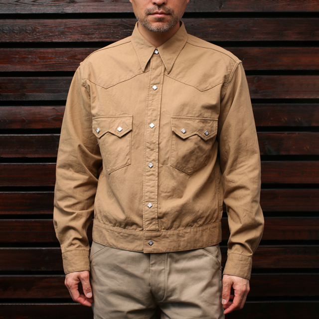STEVENSON OVERALL Co. Cassidy - CS2 WESTERN SHIRT JACKET シャツジャケット
