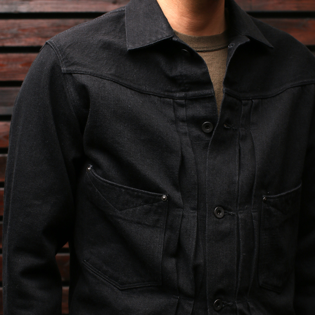STEVENSON OVERALL Co. STEVENSON OVERALL Co. Saddle Horn Type2 -102 12 oz. Denim Jacket デニムジャケット