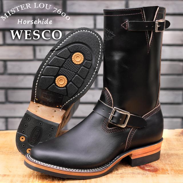 WESCO MISTER LOU 7600 Horsehide ウエスコ ホースハイド マイスター ナローエンジニアブーツ