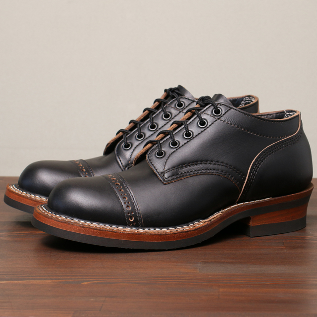 [ホワイツ] WHITE'S BOOTS OXFORD C461 LAST Black Chromexcel