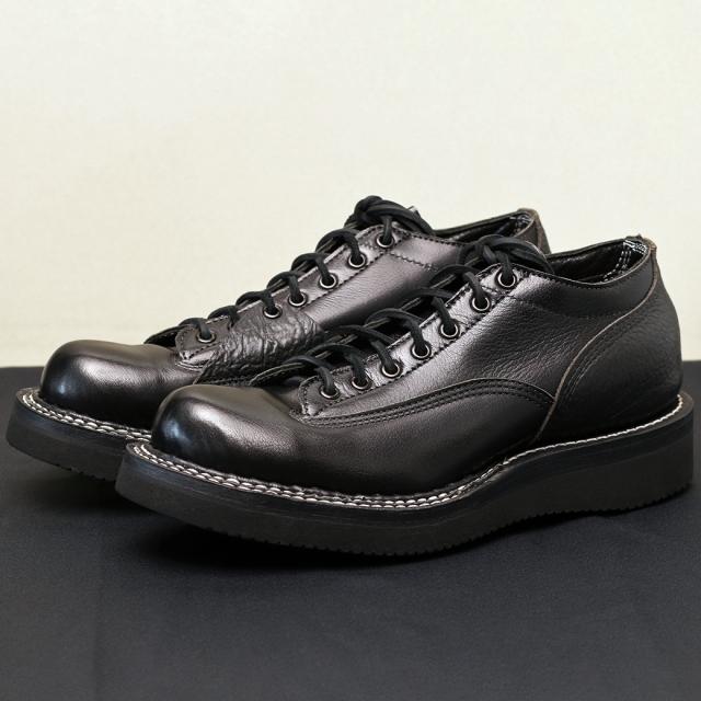 [ホワイツ] WHITE'S BOOTS OXFORD SHOE C461 Last LTT BLK バッファロ/ブルハイド