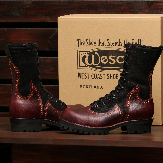 [ウエスコ] WESCO Phoenix フェニックス 10'' BUG Pebble & BLK R/O