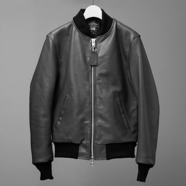 Vanson Special Custom Team Jacket Black
