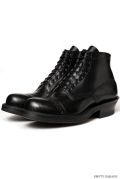 [ホワイツ] WHITE'S BOOTS SEMI DRESS Straight Tip Custom Black Calf [#700e Sole]