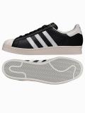 adidas Originals SUPER STAR 80s ブラック/ホワイト/チョーク2  G61069