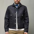 STEVENSON OVERALL CO. Slinger II - 402 RIVET PLEATED WORK JACKET デニムジャケット