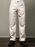 STEVENSON OVERALL CO. Commander lot. 202 Utility Trouser Natural