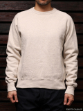 STEVENSON OVERALL CO. Loop Wheel Crew-Neck Sweatshirt - SL