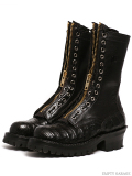 [ホワイツ] WHITE'S BOOTS Smoke Jumper Black Caiman [ワニ革]