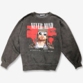 Finderskeepers FK-MEMORIAL CREW NECK / Edge Of Time / WASHED (2018AW)