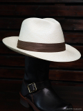 STEVENSON OVERALL CO. x STETSON Panama Fedora Hat - SSP