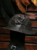 Stevenson Overall Co. Leather Bucket Hat - BH
