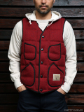 STEVENSON OVERALL CO. Brown's Beach Down Vest - BD1