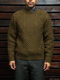Stevenson Overall Co. Cable Aran Sweater - CA