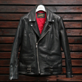 FindersKeepers FK-W.RIDERS JACKET U.K. STYLE BLACK HORSEHIDE