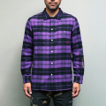 Finderskeepers FK Flannel Work Shirt L/S Purple
