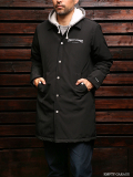 FindersKeepers x NANGA FK-Over Coat Black (White Duck Down)