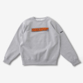 Finderskeepers FK-CHENILLE LOGO CREWNECK GRAY (2018AW)