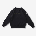 Finderskeepers FK-CHENILLE LOGO CREWNECK BLACK (2018AW)
