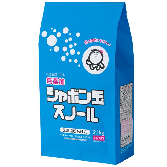 シャボン玉石けん スノール粉石けん 2.1kg