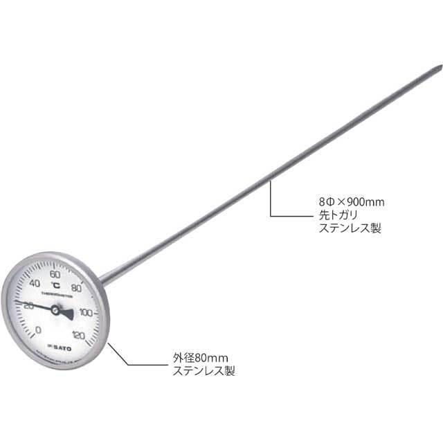 堆肥用温度計