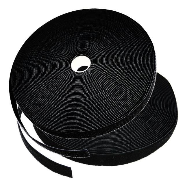 面ファスナー縫製 黒