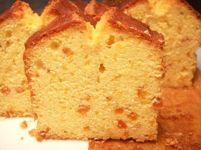 屋久島たんかんのバターケーキ