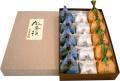 栗きんとん5+柿つづみ5+岩清水5