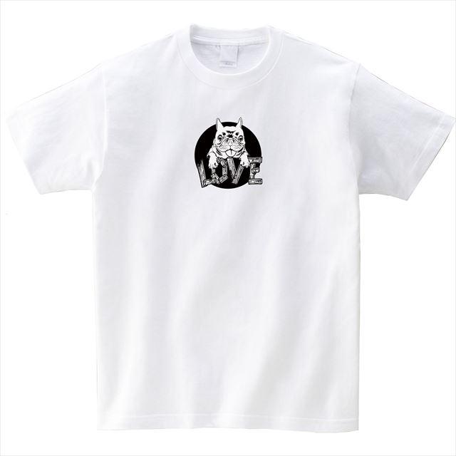 犬 プリントTシャツ