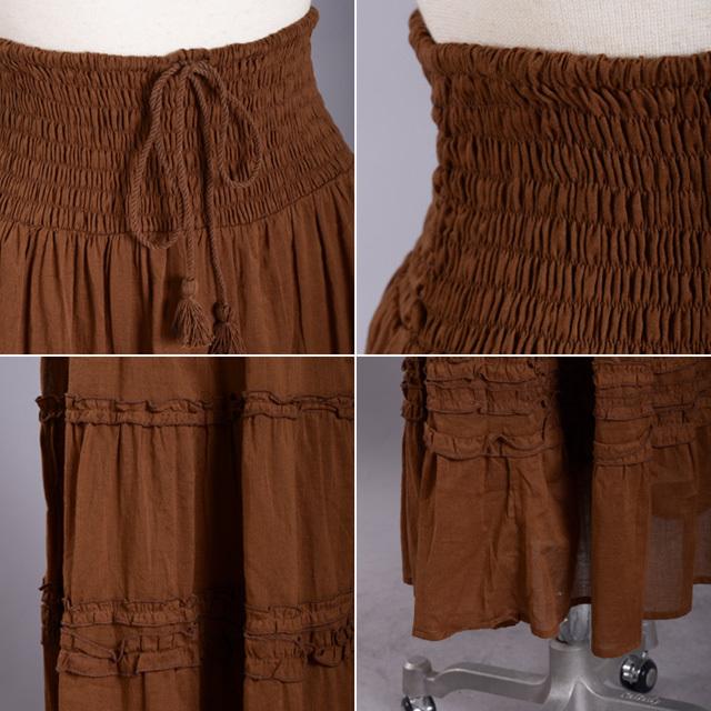 2wayマキシ丈スカート