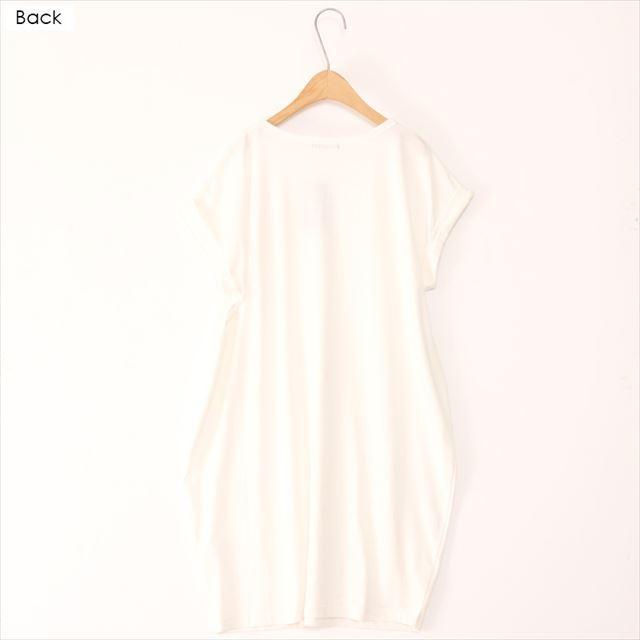 バルーンワンピース 膝丈 無地 カジュアル 夏 チュニック ロングTシャツ 通販