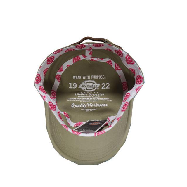 Dickies 帽子 クラシック ワークキャップ カジュアル 人気 チノパン