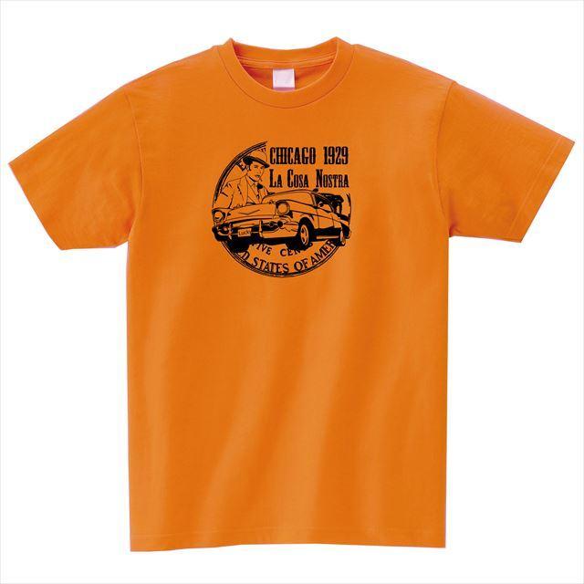 MISSY MISTER ミッシーミスター プリントTシャツ オレンジ