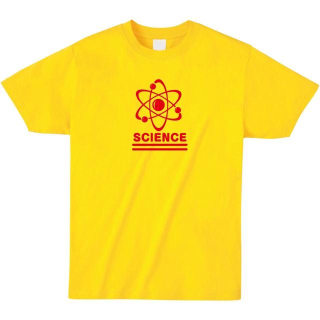 ミッシーミスター 原子科学マークSCIENCEロゴTシャツ