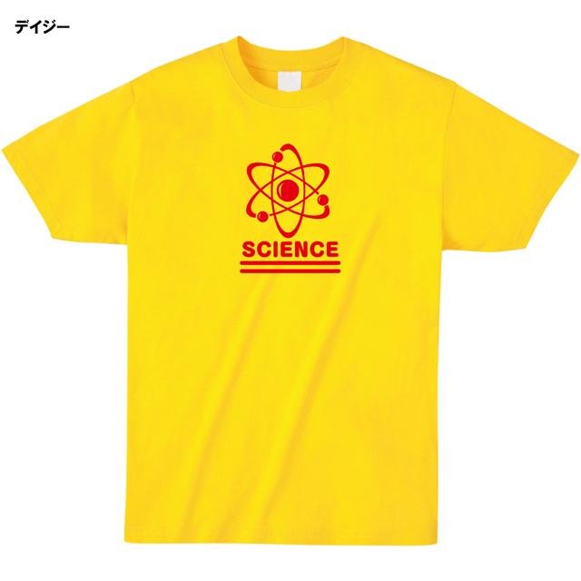 ミッシーミスター 原子科学マークSCIENCEロゴTシャツ デイジー